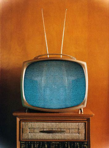 Scrambled Television Screen