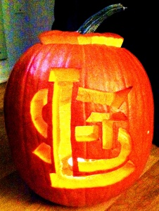 Cardinals Pumpkin