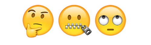 Zipped-Mouth Emoji