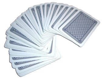 5536-a-deck-of-cards-spread-out-on-a-white-background-pv